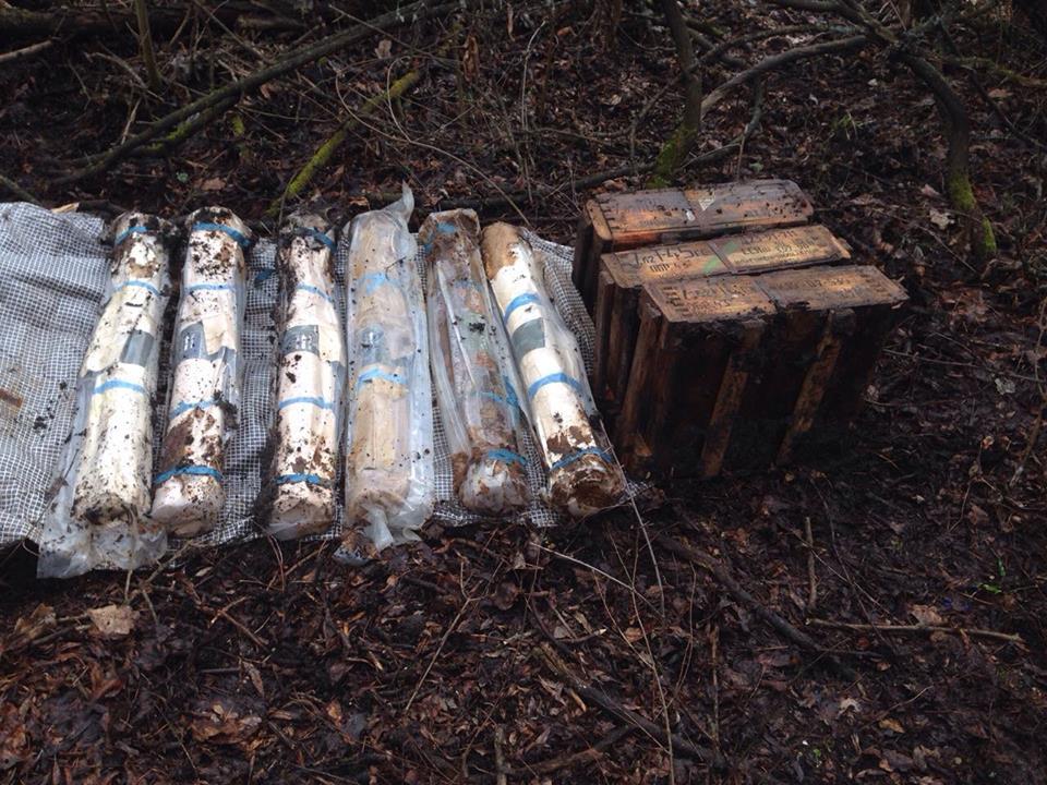 В Славянске обнаружен тайник с гранатометами — СБУ (фото)