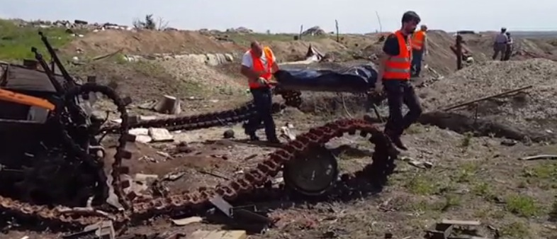 «Черный тюльпан» вывез из оккупированной территории 648 останков военнослужащих (видео)
