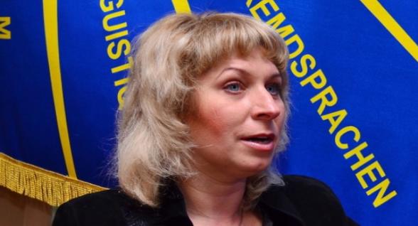 Нашлась сбежавшая «министр образования «ЛНР» Леся Лаптева