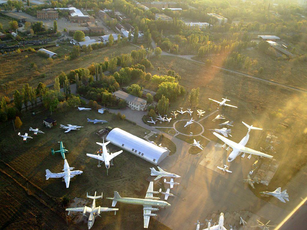Луганский авиационно-технический музей. Фото с сайта Fishki.Net