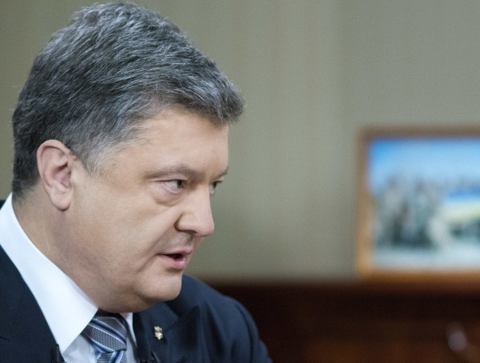 Для выборов на Донбассе нужна полицейская миссия ОБСЕ — Порошенко