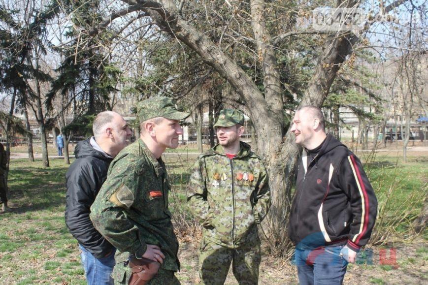 В оккупированном Луганске отметили вторую годовщину захвата СБУ (фото)