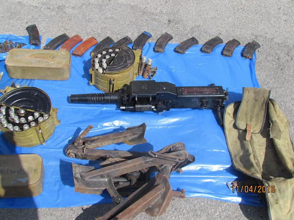 СБУ задержала торговцев оружием из зоны АТО (видео)