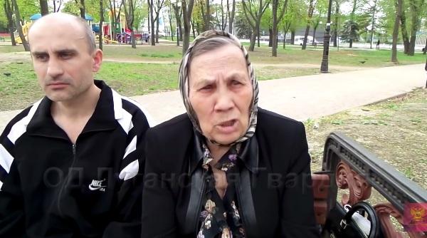 В Луганске пенсионерка пожаловалась на отсутствие льгот и завышенные тарифы (видео)