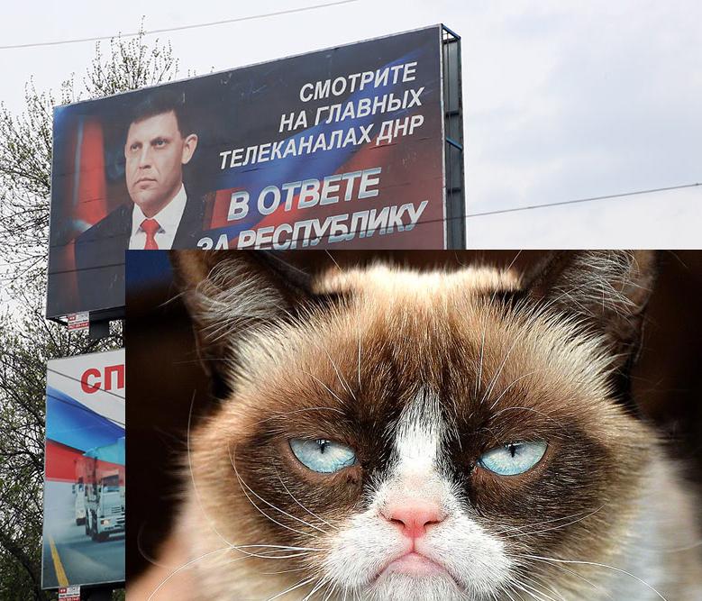 Захарченко и Грампи кэт