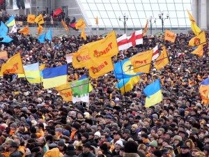 Украинский опыт ненасильственной борьбы. Фото с сайта ua-ru.info