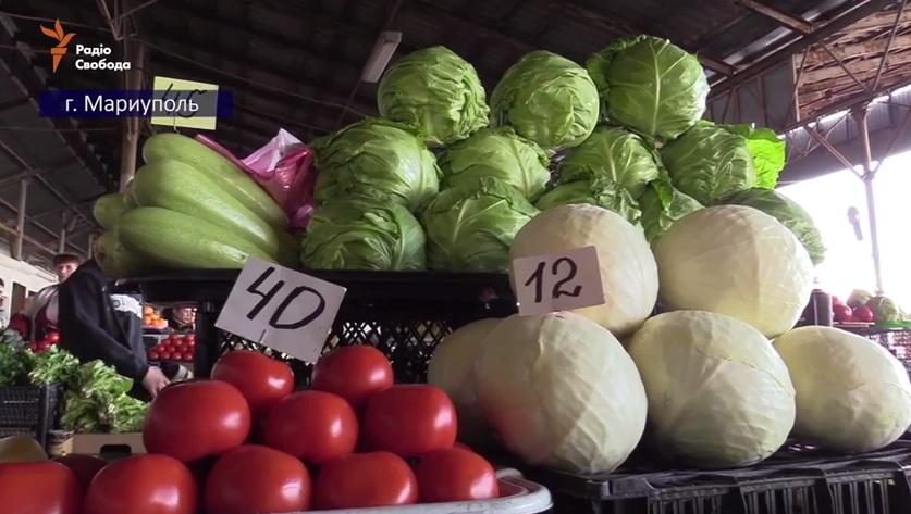 Борщ по-донбасски. Цены и проблемы (видео)