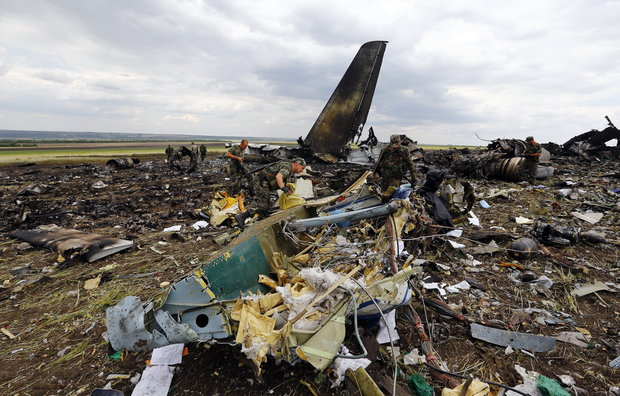 В СБУ предупреждали, что боевики могут сбить Ил-76 в Луганске