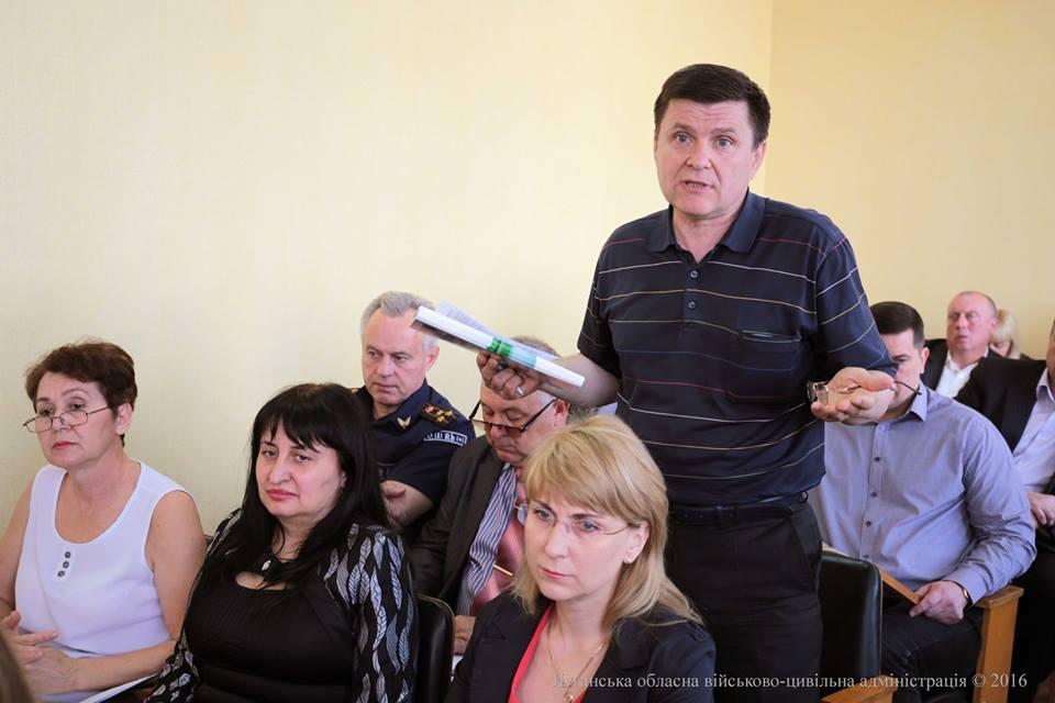 Губернатор Луганщины дал неделю руководству Северодонецка на наведение порядка в городе
