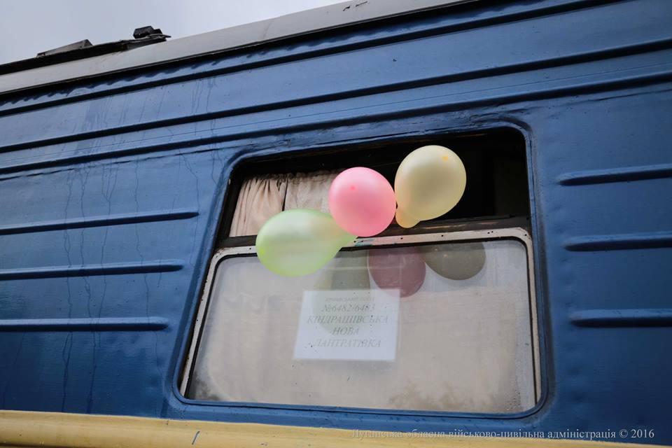 На Луганщине запустили пригородный поезд «Кондрашевская – Лантратовка» (фото)