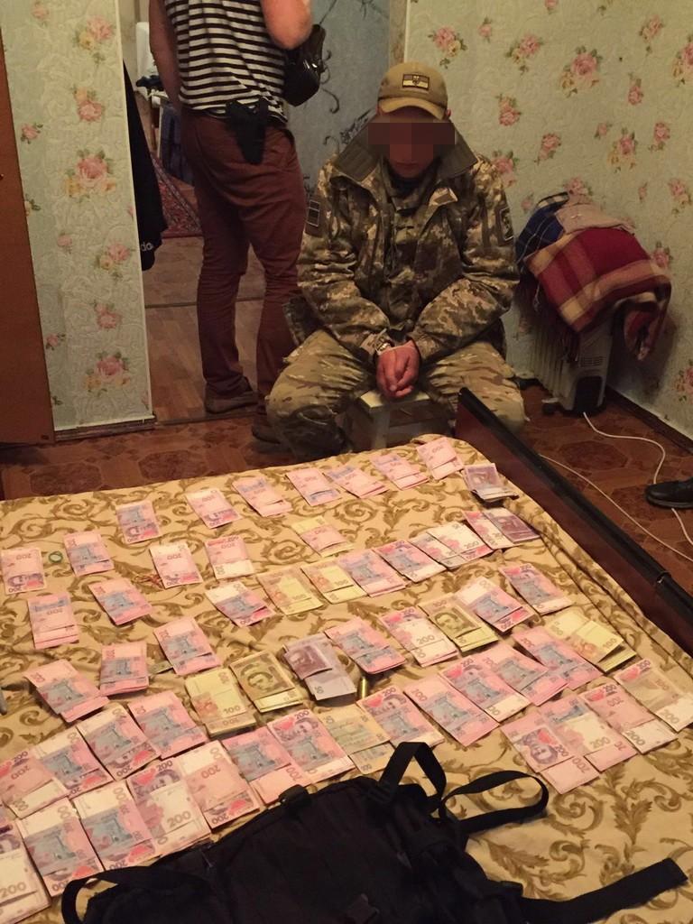 СБУ задержала пограничников за взятки в зоне АТО (фото)