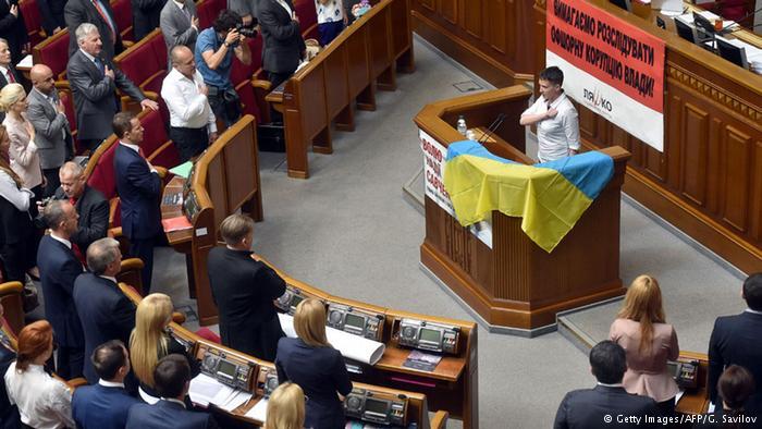 Савченко раскритиковала смягчении санкций против России