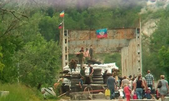 В штабе АТО объяснили занятие «ЛНР» новых позиций возле Станицы Луганской