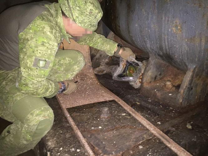 СБУ обнаружила в зоне АТО российские пехотные огнеметы (фото)