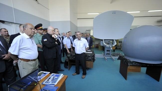 Турчинов: В Украине возобновят производство «Кольчуг» (видео)
