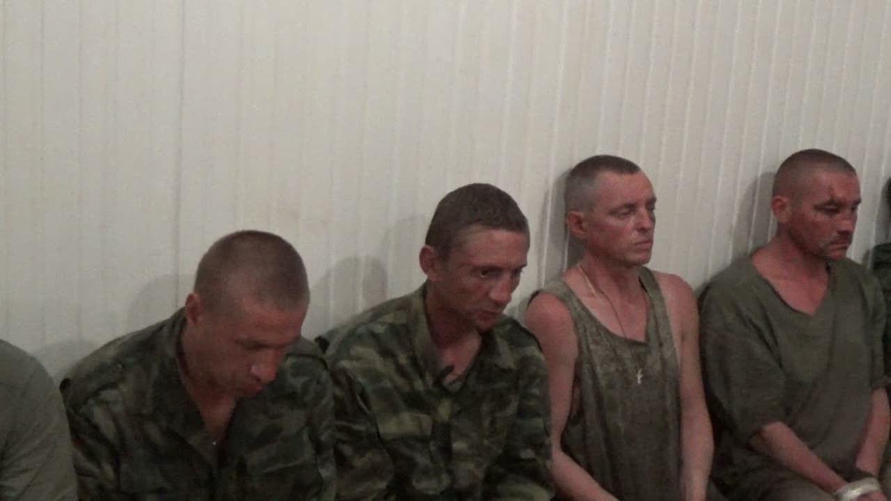 В СБУ обнародовали видео задержанных боевиков под Мариуполем