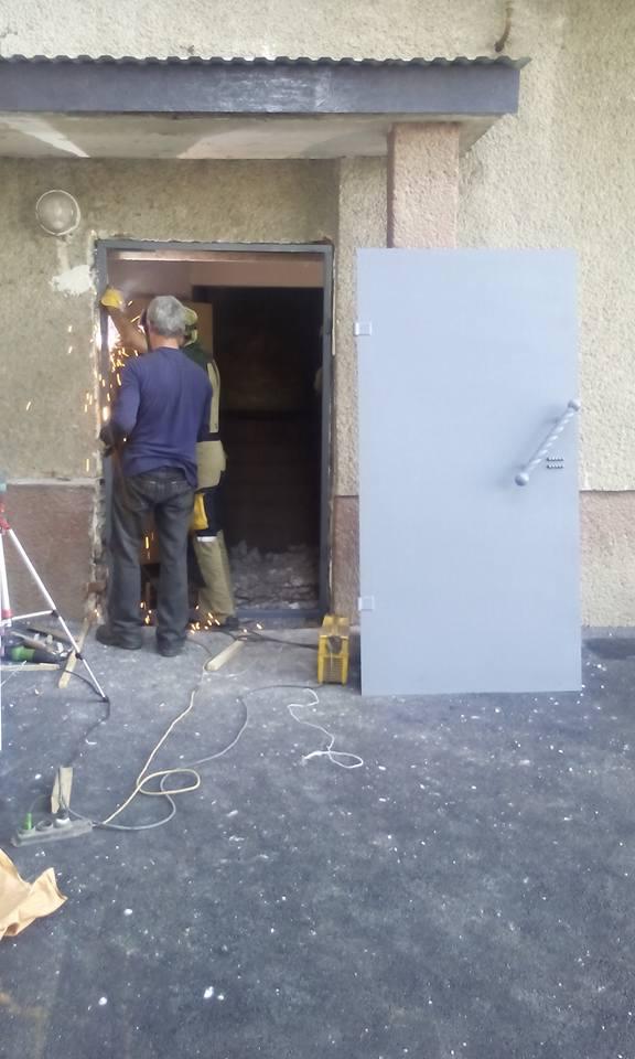 осм мукачево -нові двері
