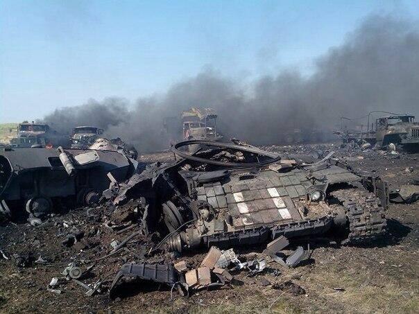 Два года с момента ракетной атаки на бойцов АТО под Зеленопольем