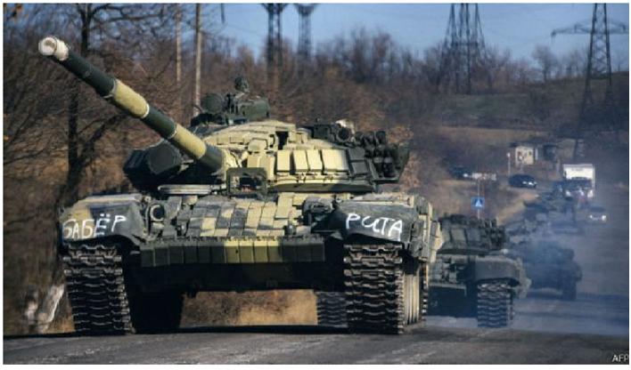 Российских танков в «ЛНР» и «ДНР» больше чем в Германии и Великобритании вместе взятых