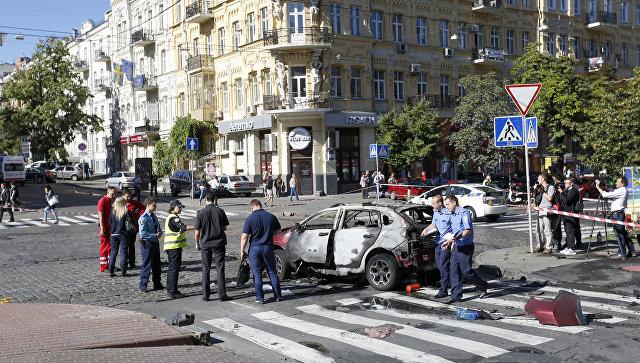 Убийство Шеремета: Появилось видео установки взрывчатки