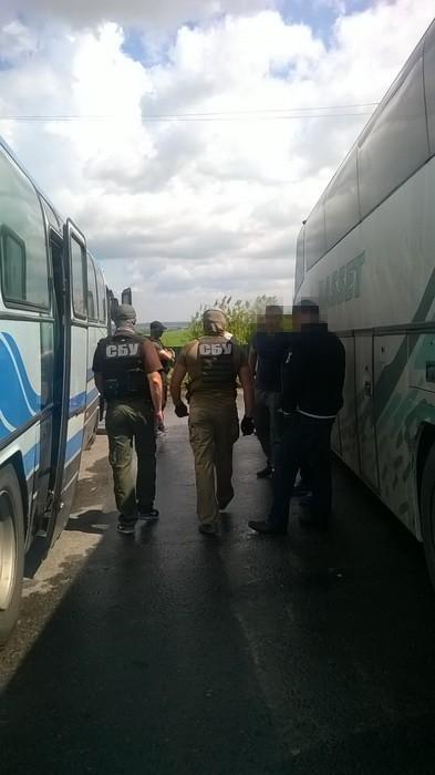 СБУ перекрыла канал перевозки пассажиров из «ЛНР» в Одессу (фото)