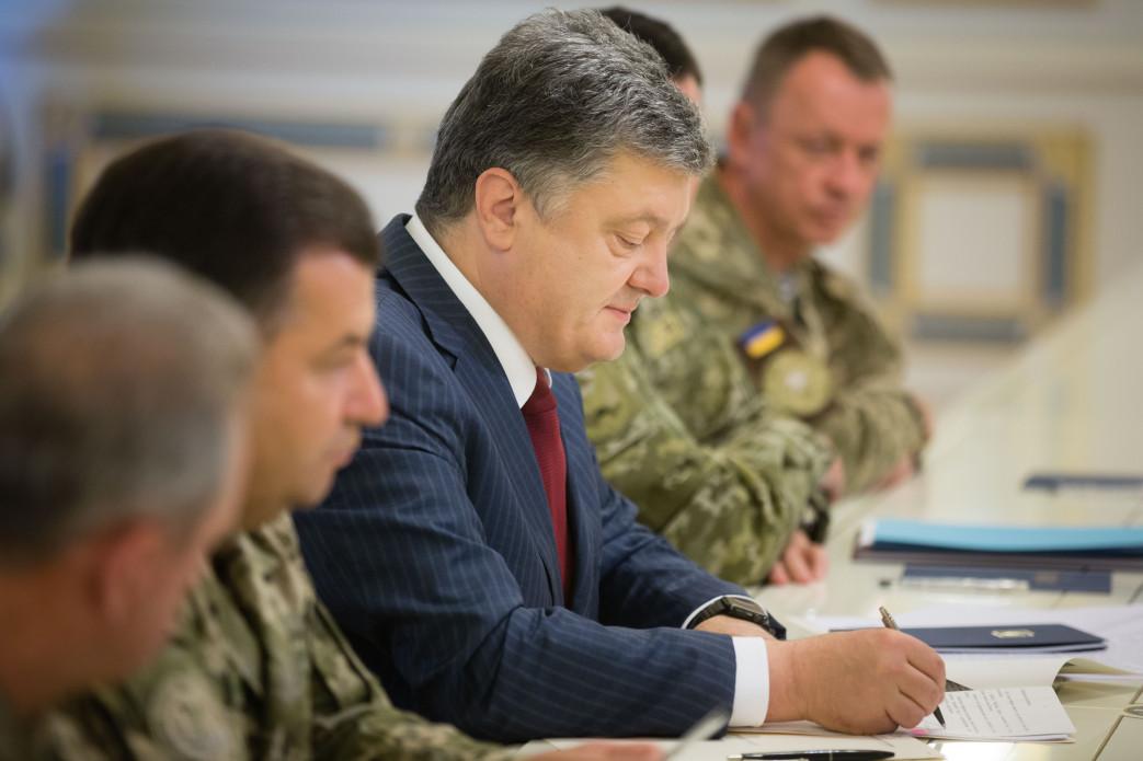 Порошенко подписал закон о Силах спецопераций ВСУ