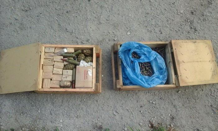 На Луганщине СБУ обнаружила очередной тайник с боеприпасами