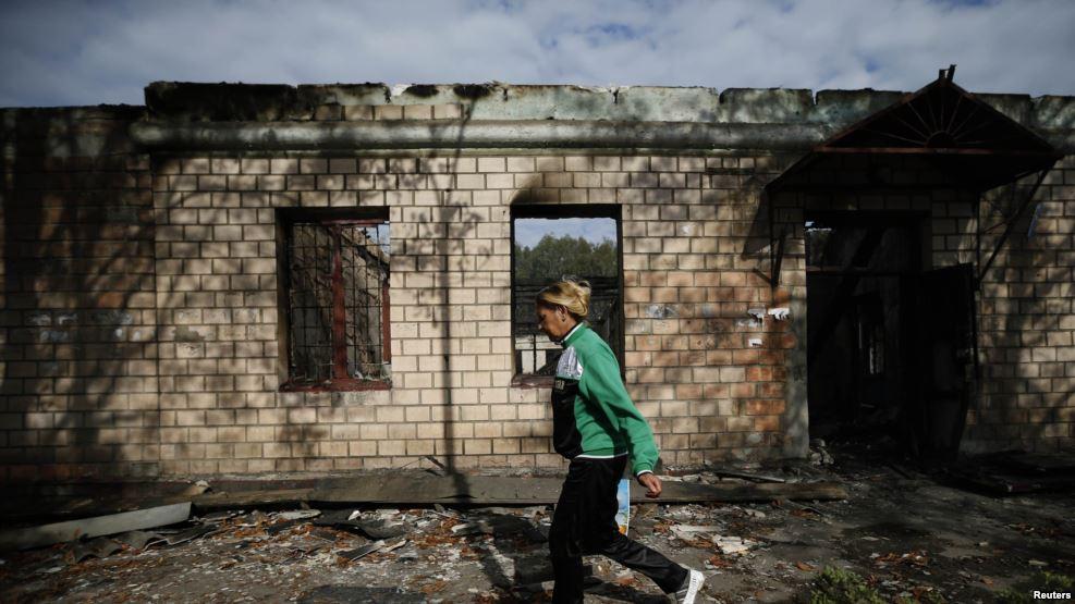 Луганск. Заполнение пустоты