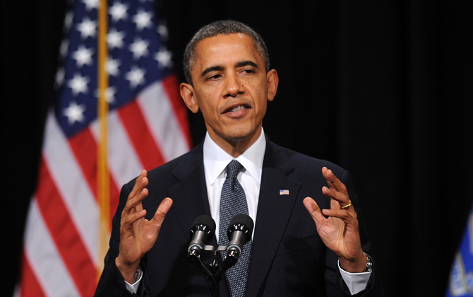 Обама призвал Путина не запугивать Украину