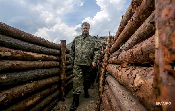 Порошенко заявил, что на Донбассе увеличилось количество обстрелов
