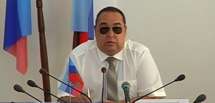 Главарь «ЛНР» Плотницкий вернулся на работу и разругал своих «силовиков» (видео)