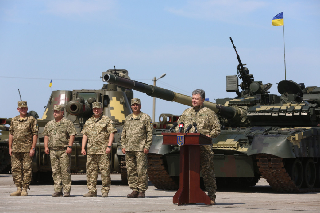 Новая партия оружия и техники отправлена в зону АТО (фото)