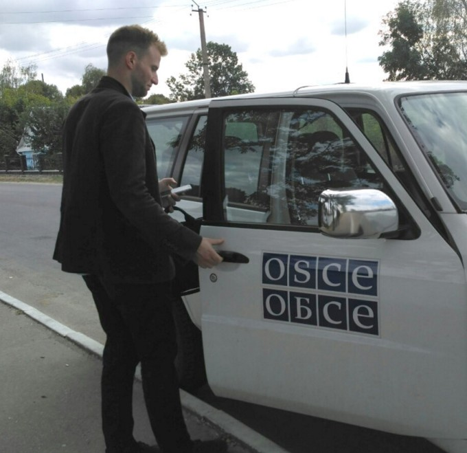 Сотрудник ОБСЕ на Тернопольщине