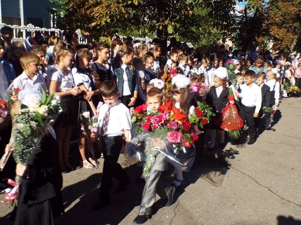 Как начался учебный год в Станично Луганском районе