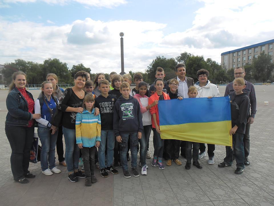 Дети-сироты из Луганской области отправились на отдых в Турцию