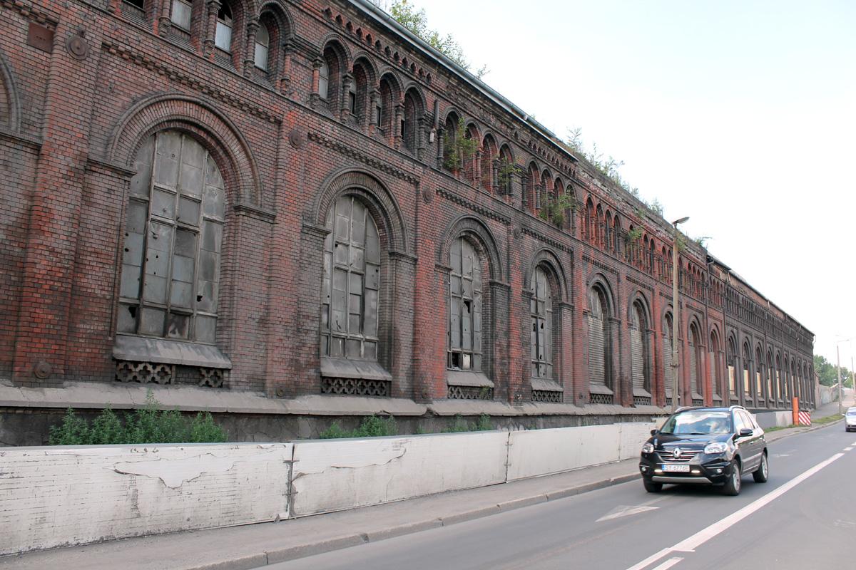 Здание закрытого металлургического завода в городе Бытом, памятник архитектуры (1900-1907 гг.)