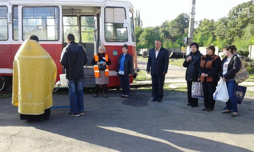 На Донетчине в Авдеевке запустили трамвай (фото)