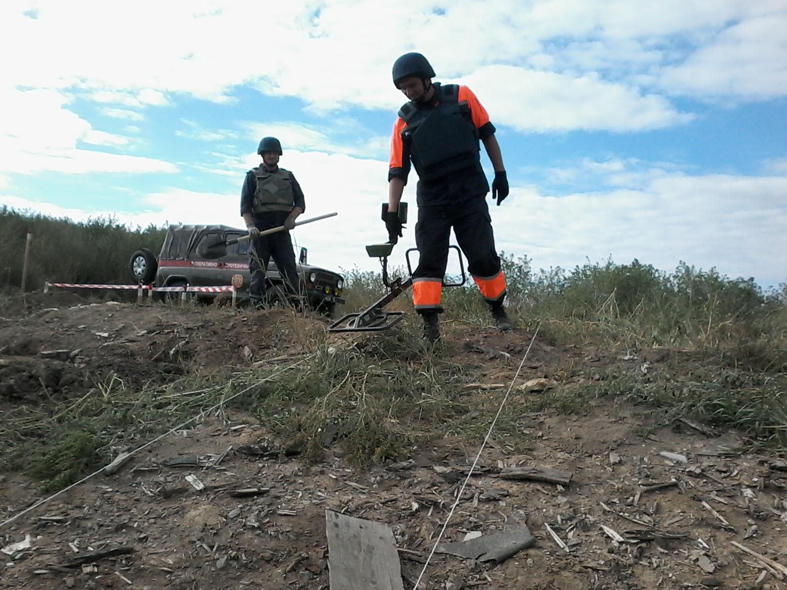На Луганщине пиротехники за сутки обезвредили 97 взрывоопасных предметов (фото)