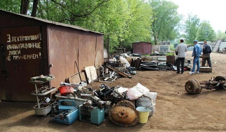 В «ЛНР» хотят запретить частные точки приёма металлолома