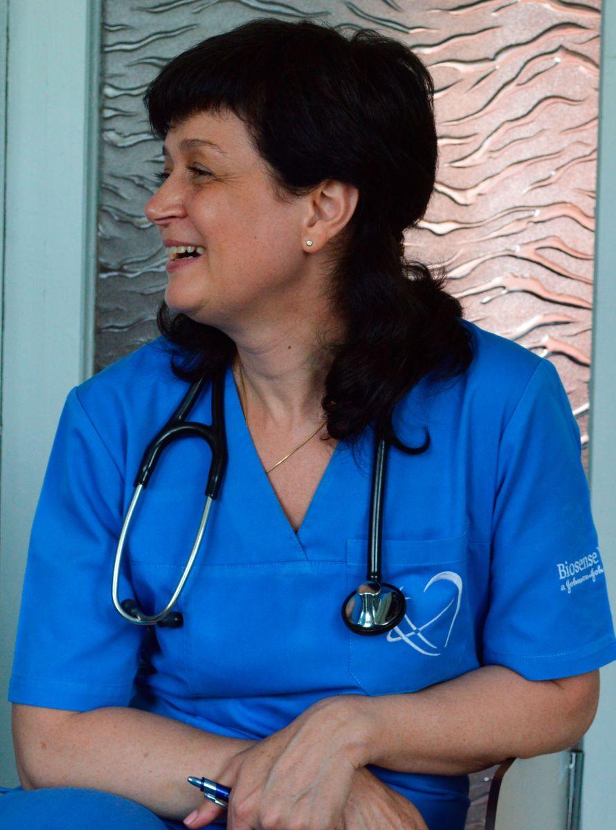 Аритмолог Татьяна Кравченко входила в группу исследователей донецкого института им. Гусака, которая награждена Государственной премией за работу по использованию стволовой клетки в кардиохирургии. Фото МедиаПорт