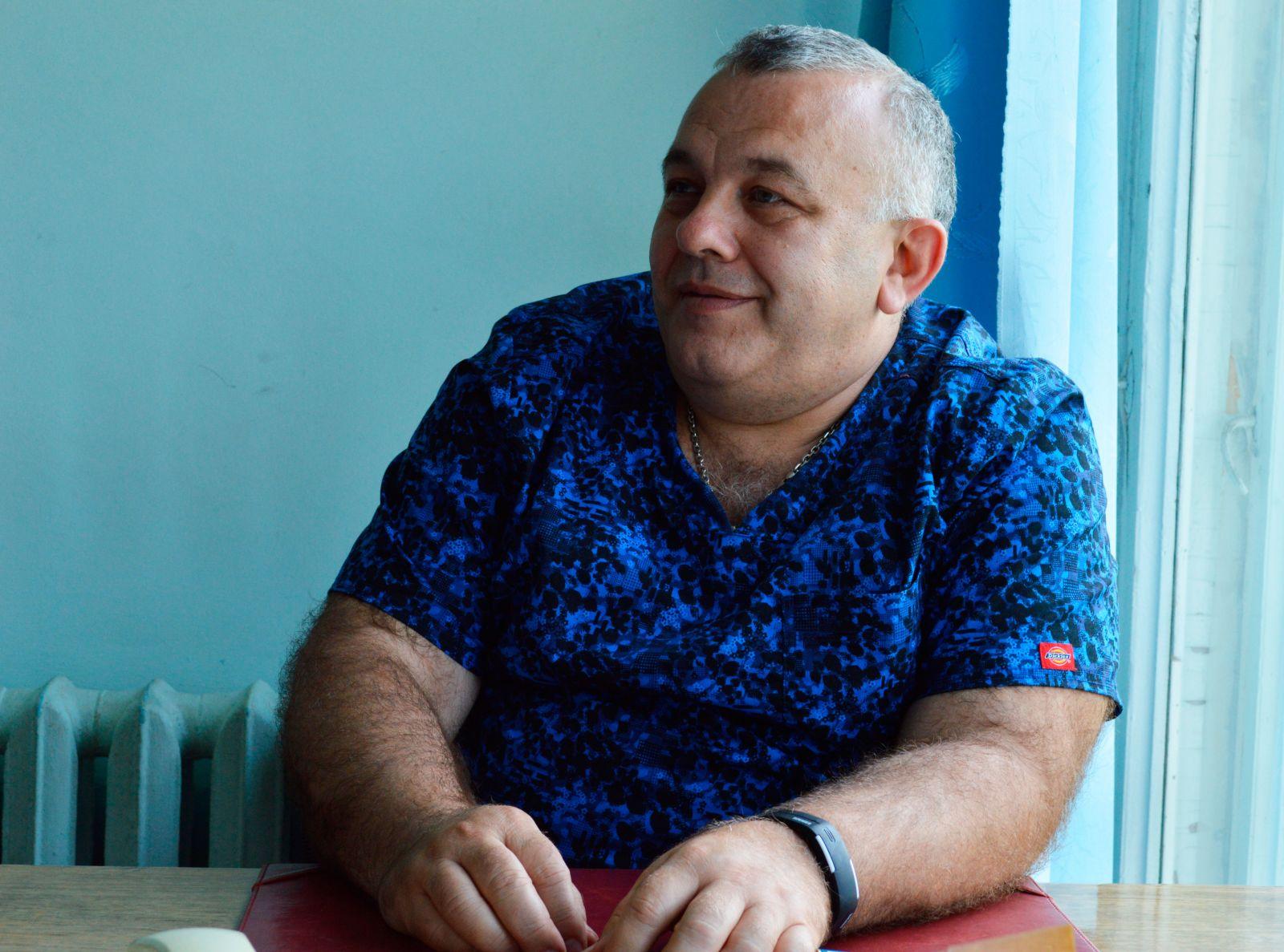 Кардиохирург Сергей Эстрин. Фото МедиаПорт