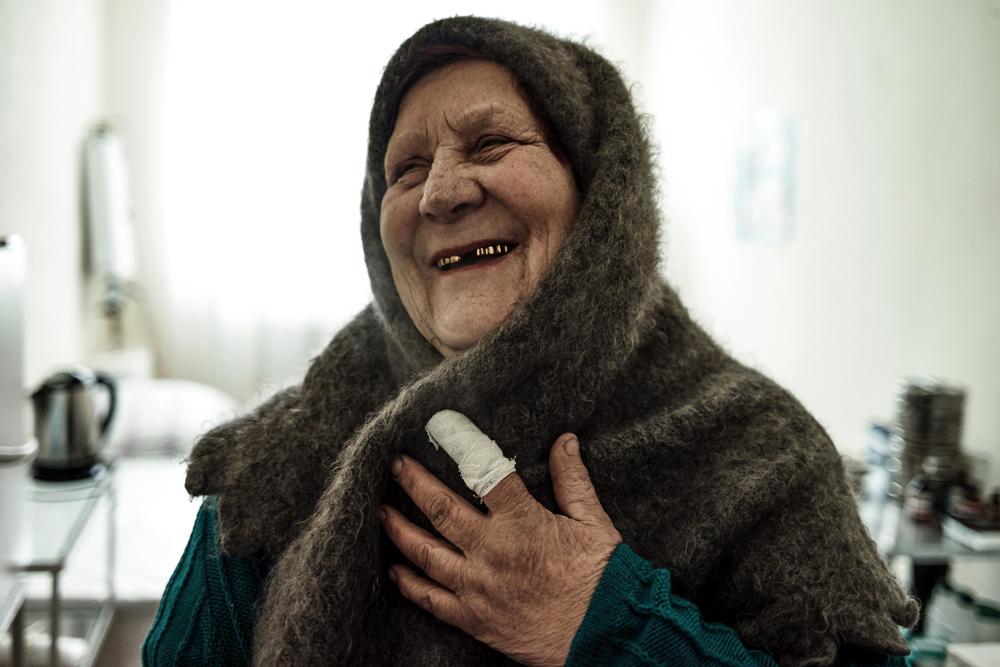Пенсионерка Валентина Ивановна