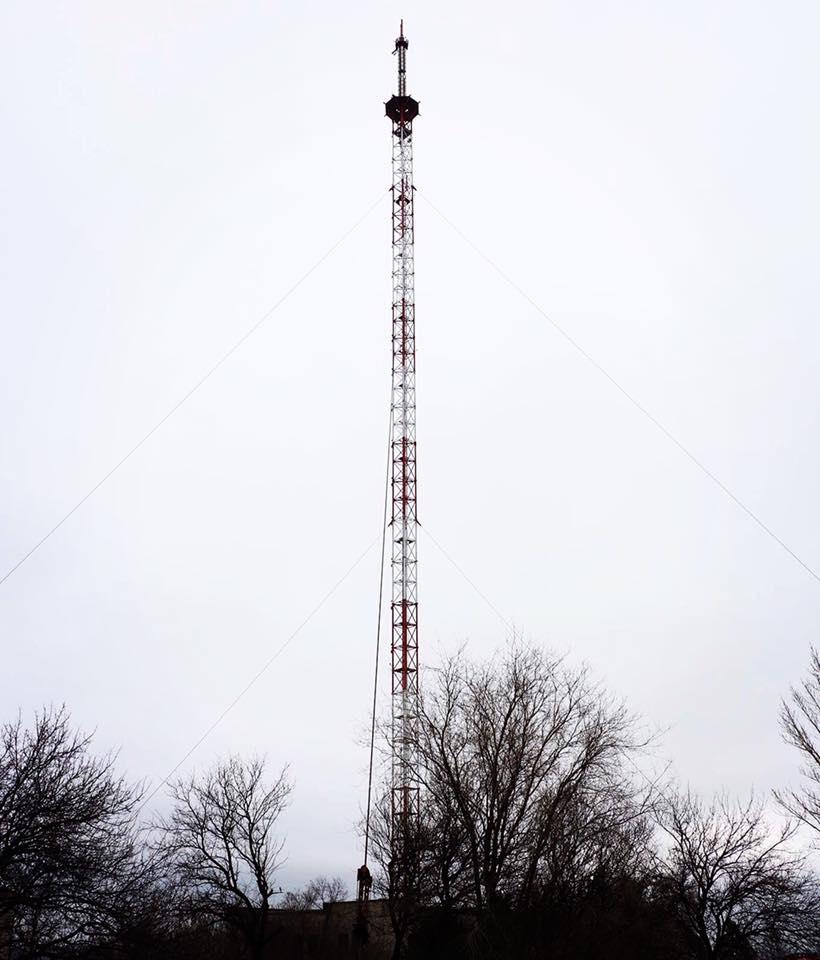В Донецкой области скоро начнет работать телевышка на горе Карачун