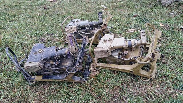 На Луганщине СБУ обнаружила три замаскированные позиции, оборудованные ракетными комплексами «Фагот» (фото)