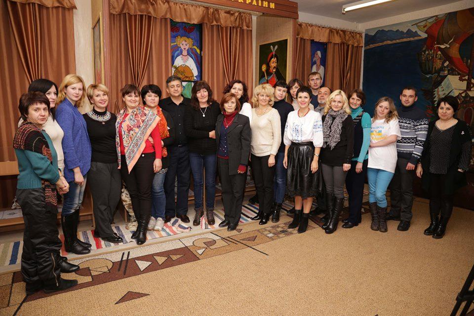 Учителя Луганщины, Львовщины и Тернопольщины обменялись педагогическим опытом