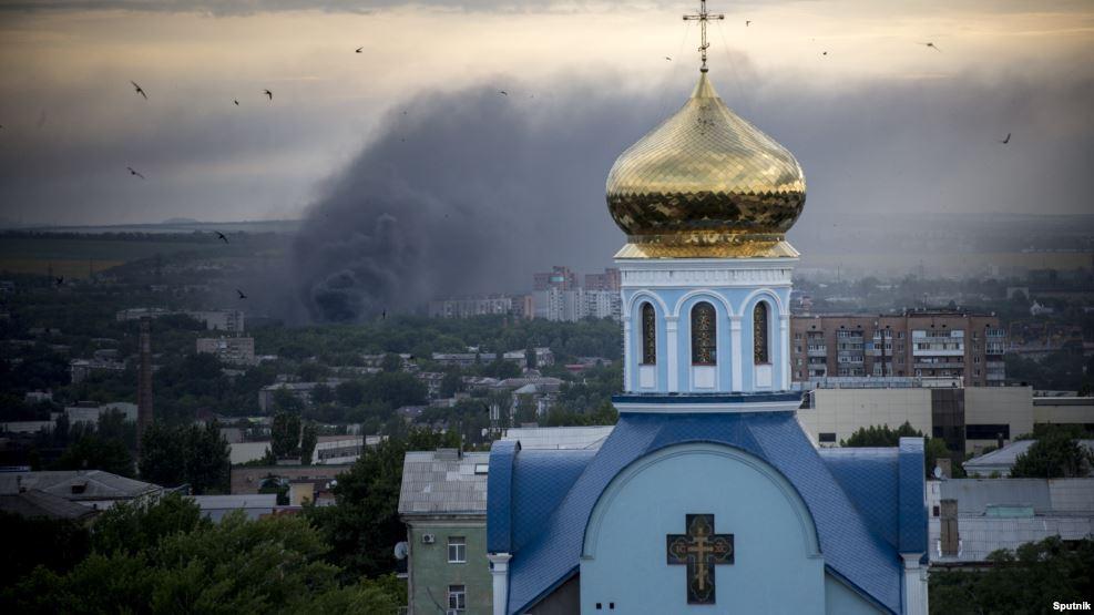 Луганск. Привычка к Украине