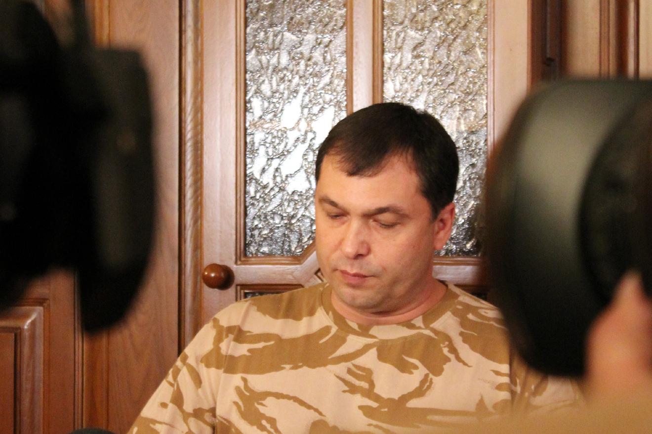 Болотов пресс-конф 04.07.2014. Фото - Белокобыльский