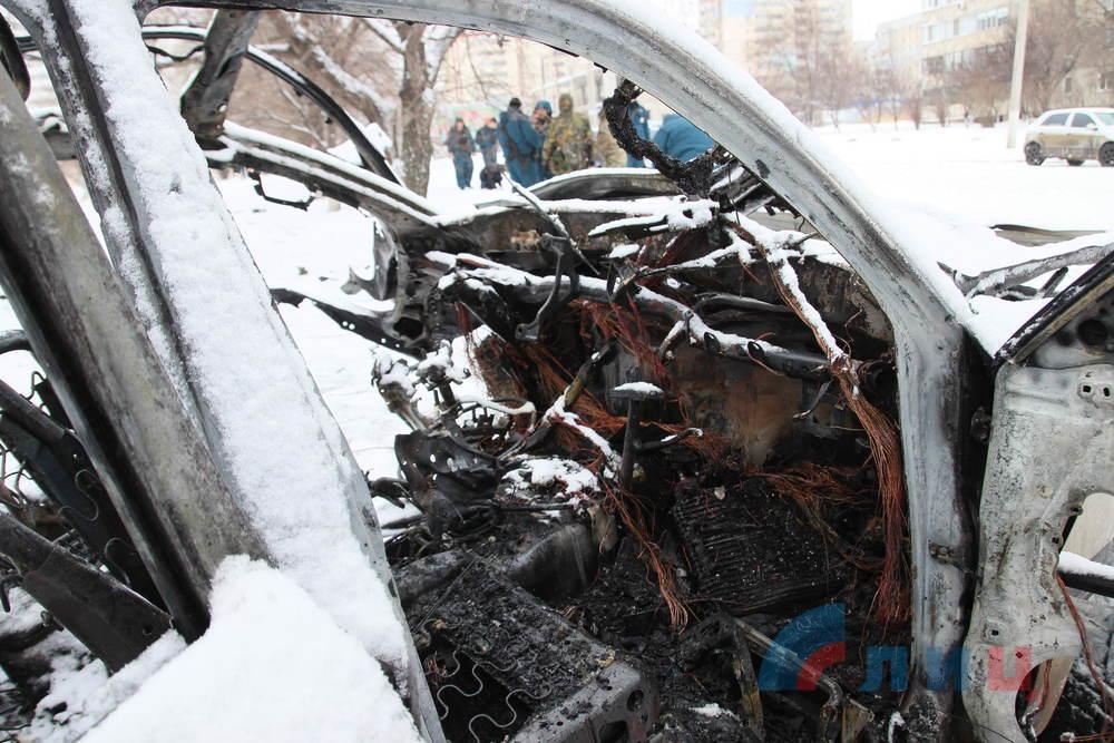 В Луганске взорвали одного из высших командиров «Народной милиции» (ФОТО, ВИДЕО)