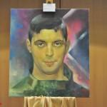 В Донецке показали картины с портретами «героев»