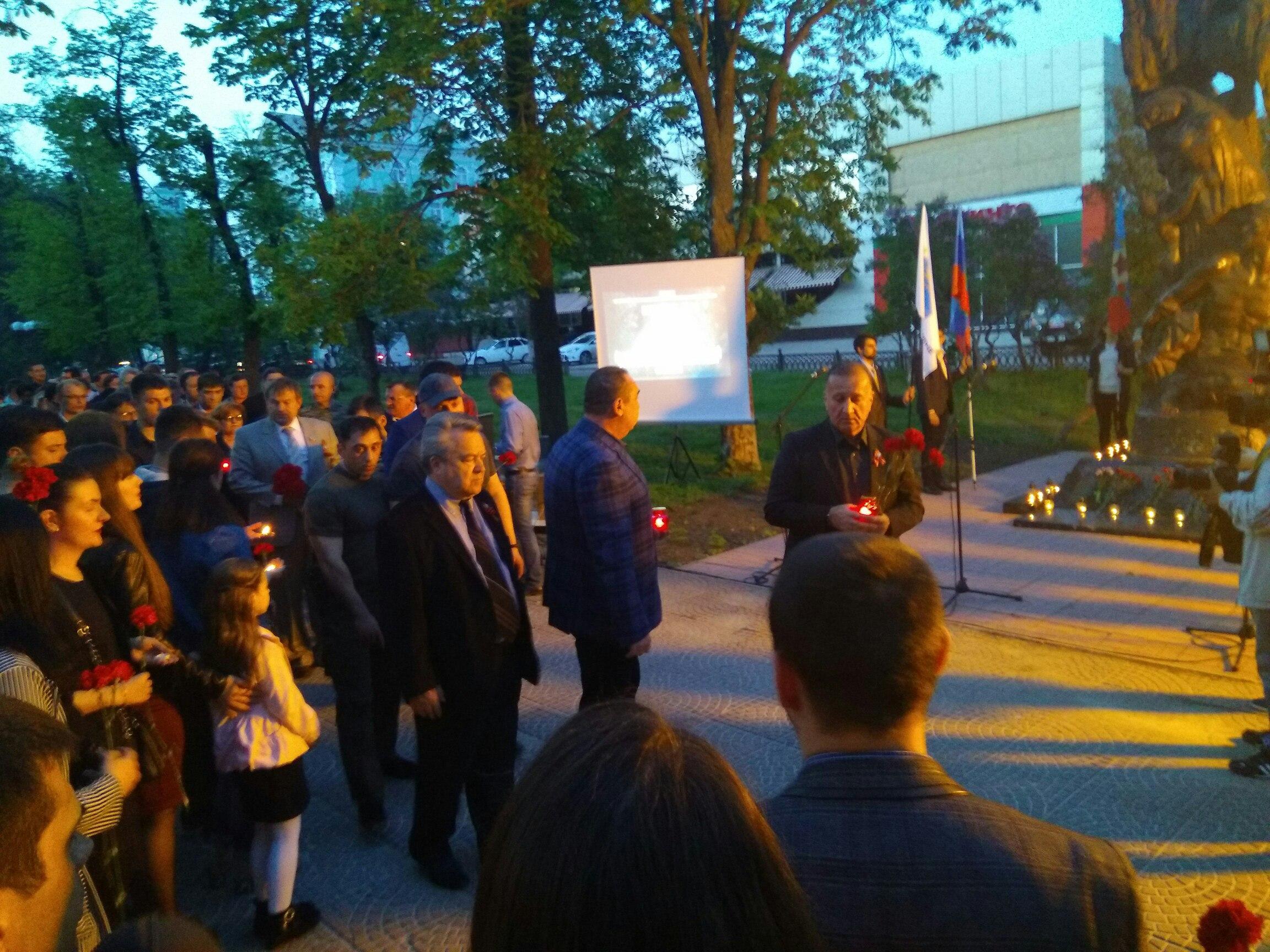 Митинг 2 мая в Луганске. Фото из социальных сетей.